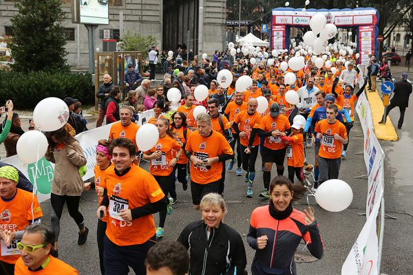 AIDS Running in Music, correre per prevenire