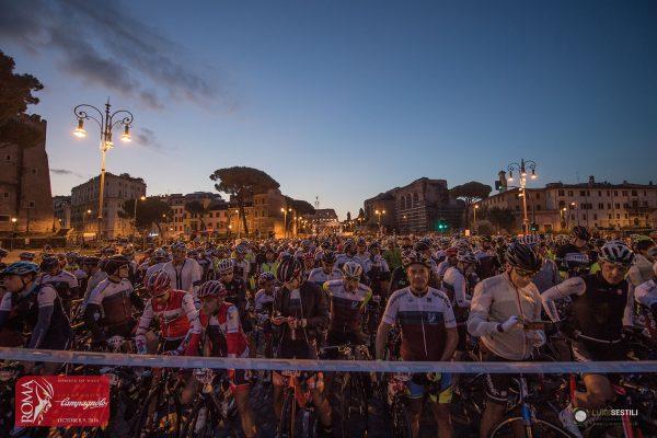 Strepitoso successo della Gran Fondo Campagnolo Roma