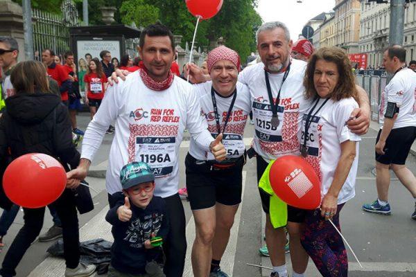 Alla Milano Marathon per i piccoli Guerrieri della Luce
