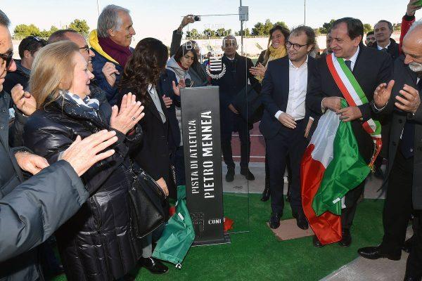"""Inaugurata la pista """"Pietro Mennea"""" a Barletta, luogo simbolo per la rinascita dello sport"""