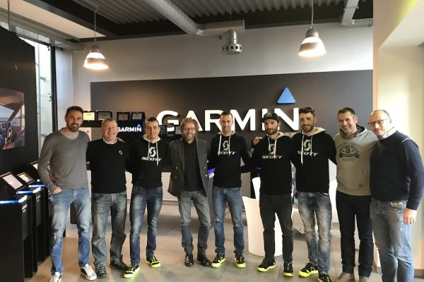 SCOTT RACING TEAM si connette con Garmin Italia