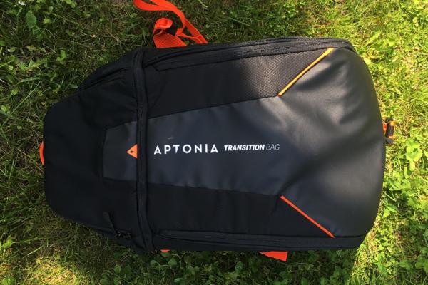 Transition bag Triathlon Aptonia. La passione, sempre a portata di mano