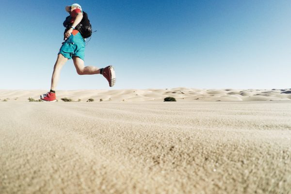 Giuliano Pugolotti, il runner del deserto