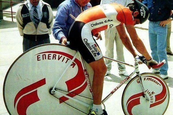 21 maggio 1988: trent'anni dal Record dell'ora al Coperto stabilito da Francesco Moser