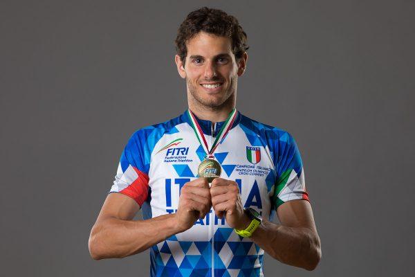 Filippo Rinaldi al Mondiali di Triathlon Cross in Danimarca