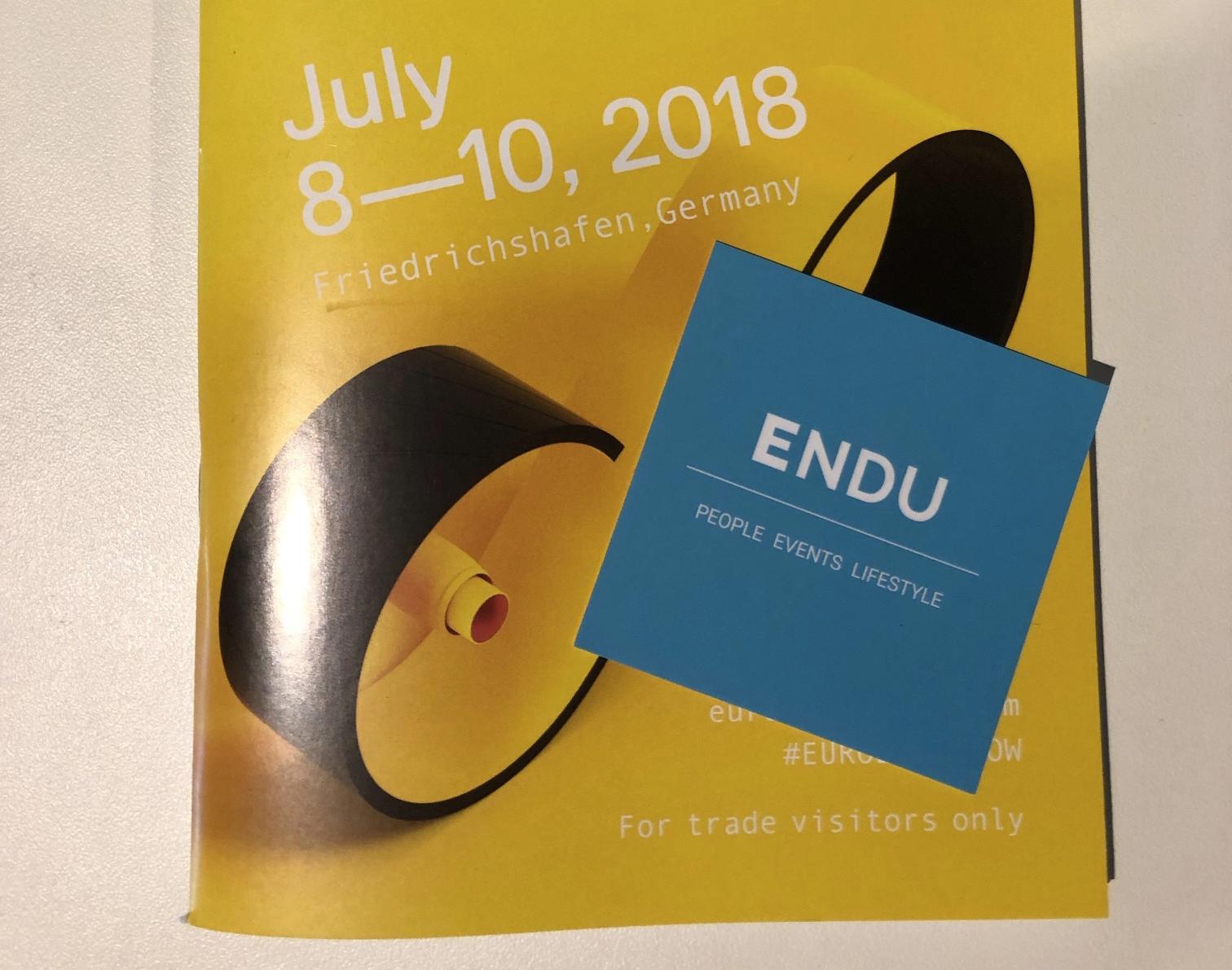 ENDU a Eurobike 2018