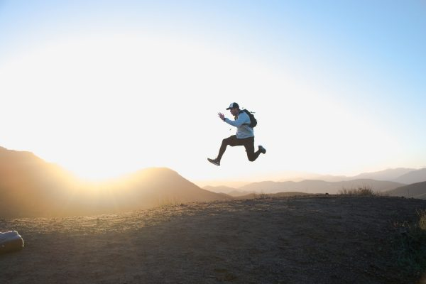 Corro, sottolineo corro, non saltello.