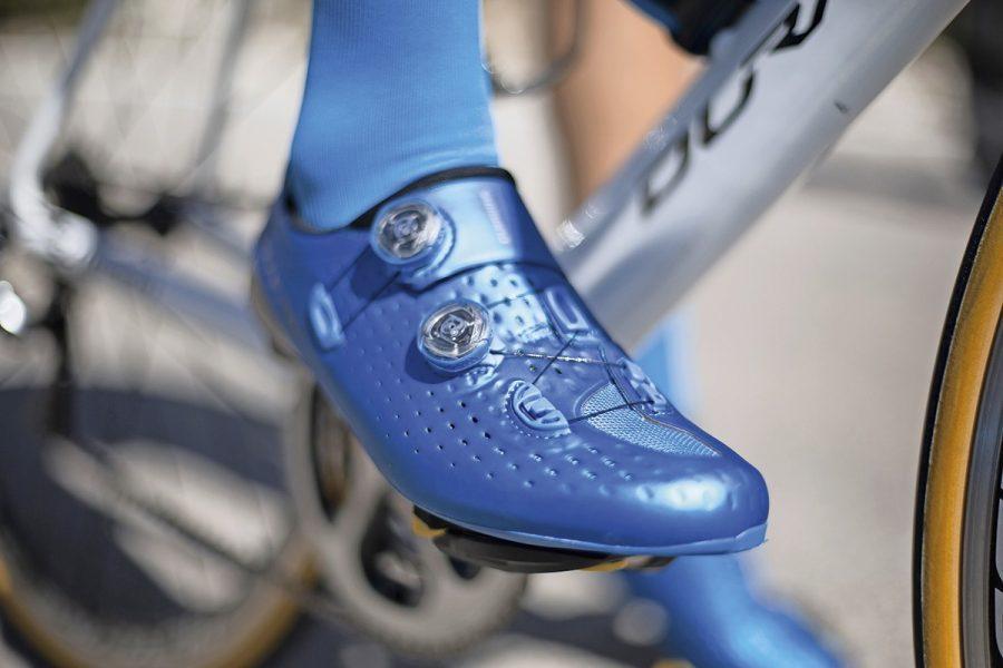 Le scarpe da ciclismo S-PHYRE riducono la resistenza aerodinamica