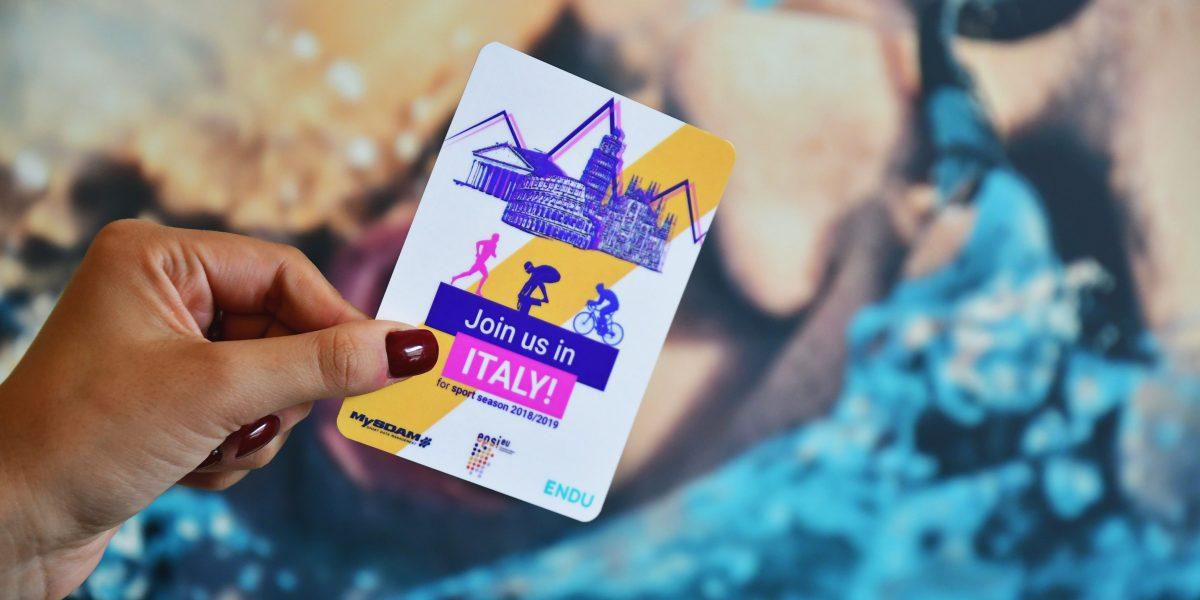 Join us in ITALY! Parte da Vienna la promozione dello sport italiano.