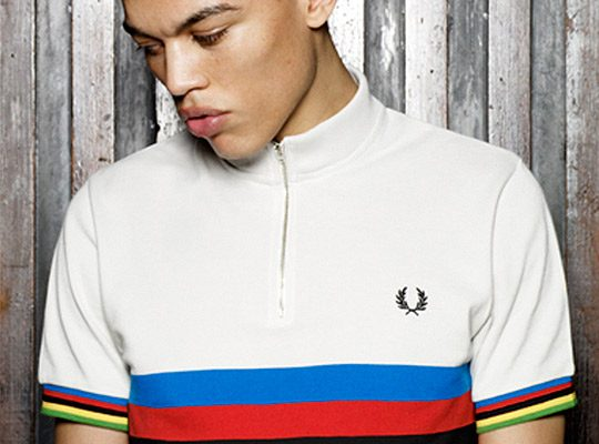 Fred Perry Cycling Blank Canvas Collection ispirata agli sportswear anni '60