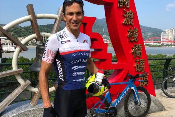 Capolavoro di Daniel Fontana all'Ironman di Taiwan