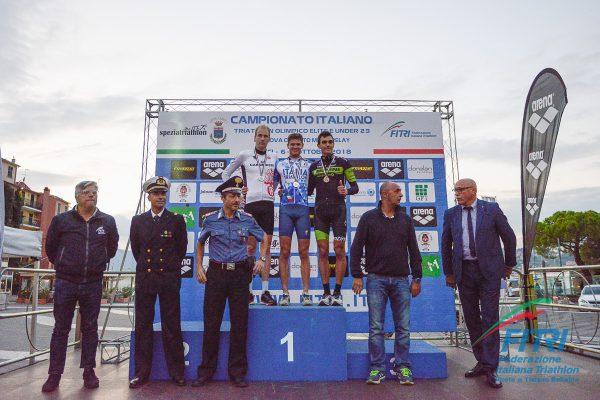 Marcello Ugazio è il nuovo Campione Italiano di Triathlon Olimpico, Elite e Under 23