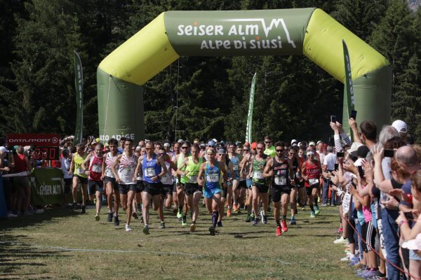 La 21 km dell'Alpe di Siusi compie 7 anni e vi aspetta a Compatsch il 7 luglio 2019