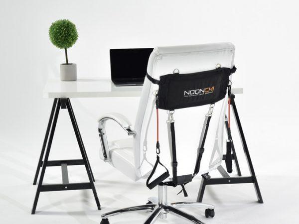 Come allenarsi senza muoversi dalla sedia da ufficio