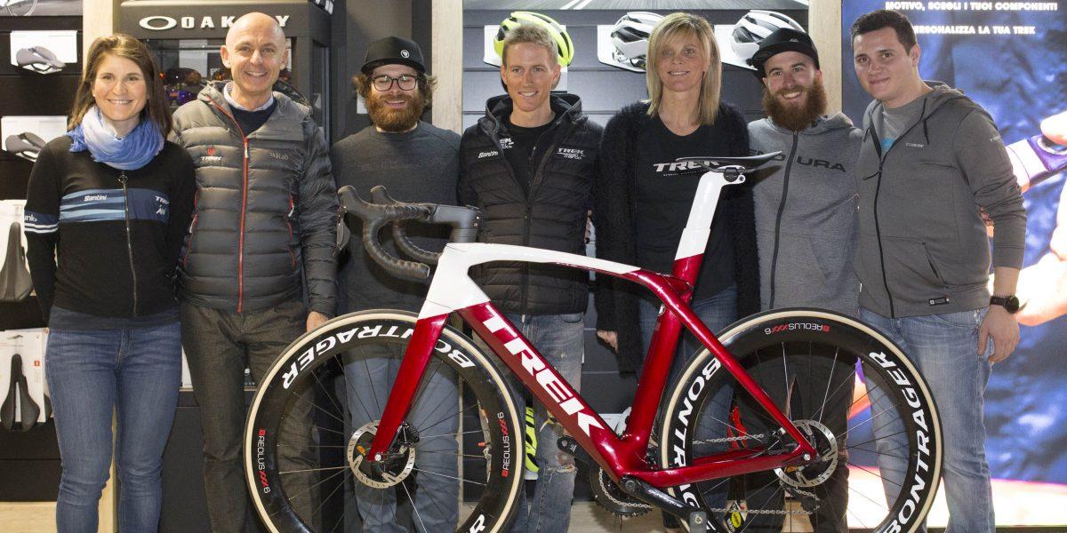 Trek concept store Parma: Elisa Longo Borghini e Paola Pezzo alla festa del ciclismo