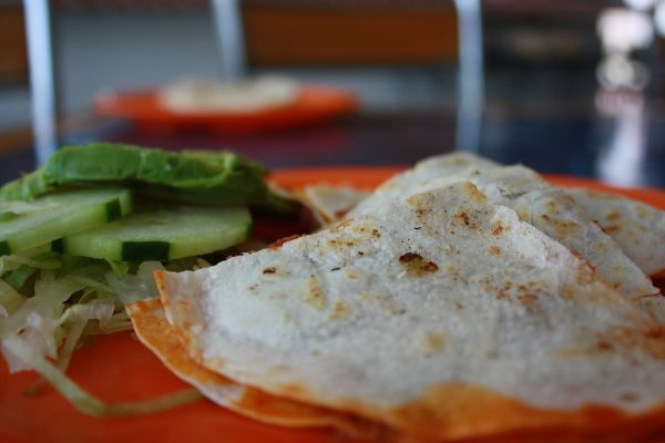 Cena Tex Mex light: chili con piadina al kamut