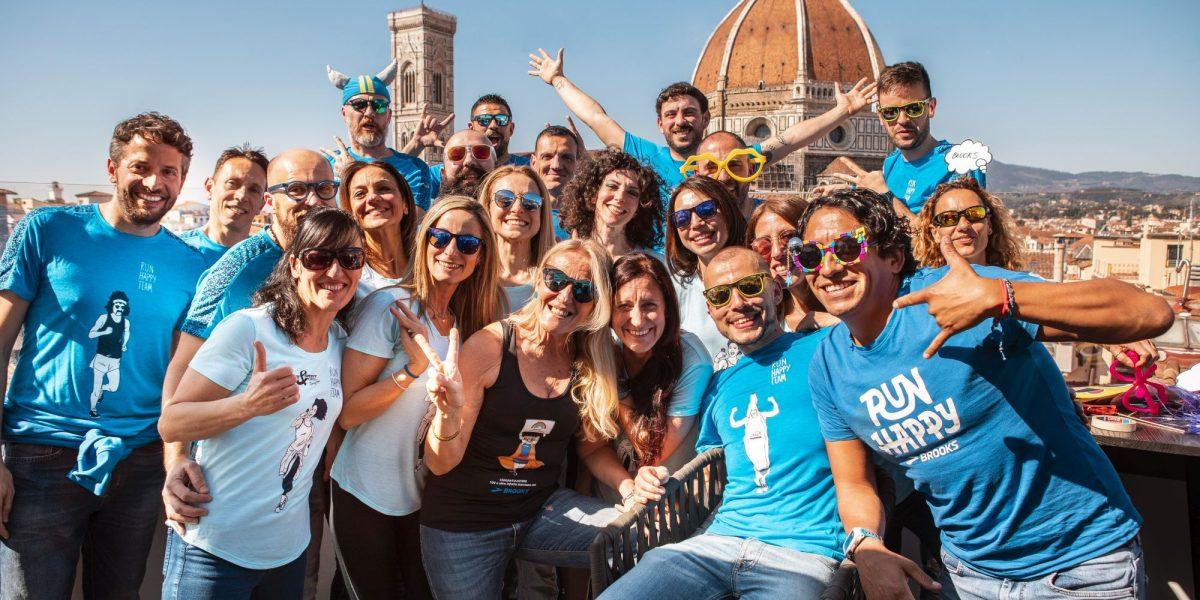 Brooks Run Happy Team: nasce la community di runner che unisce l'Europa
