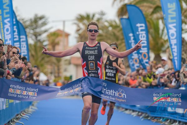 ITU Triathlon World Cup Cagliari parla Inglese!