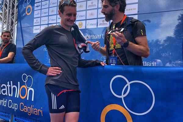 Quattro chiacchiere con Alistair Brownlee, mito del triathlon.