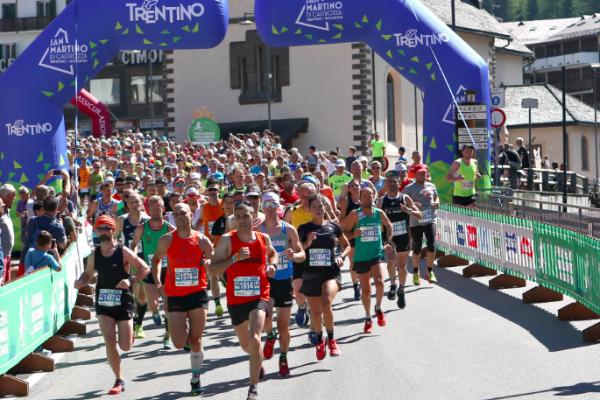 Fabio Ruga e Barbara Bani dominano la Primiero Dolomiti Marathon di 42 km