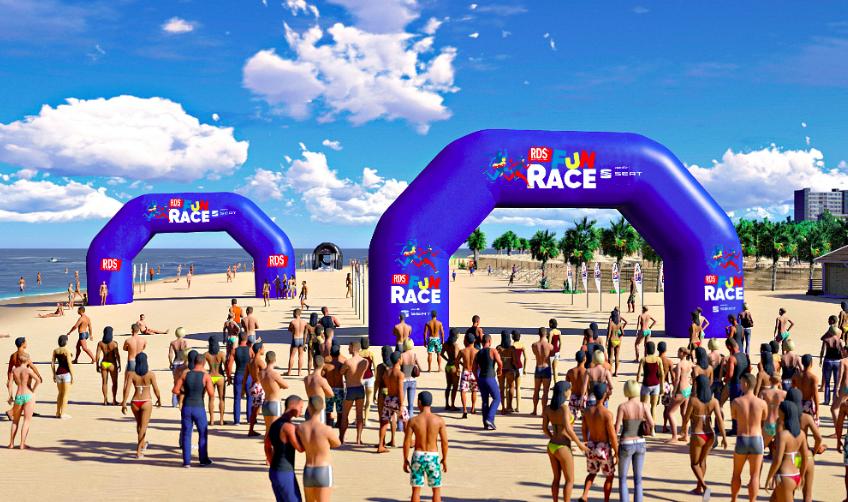 RDS FUN RACE, a Lido di Camaiore la prima tappa della Race targata RDS 100% Grandi Successi