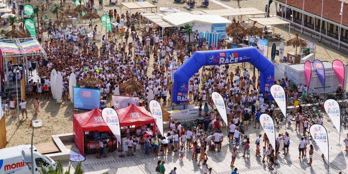 RDS FUN RACE a Cattolica la seconda tappa della Race targata RDS 100% Grandi Successi.