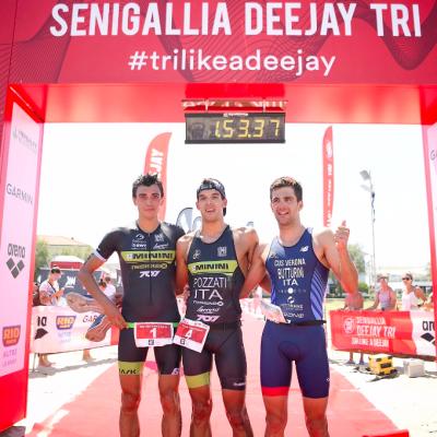 DEEJAY TRI Senigallia,  Pozzatti e Spimi trionfano nell'Olimpico ospitato dai DEEJAY Xmasters