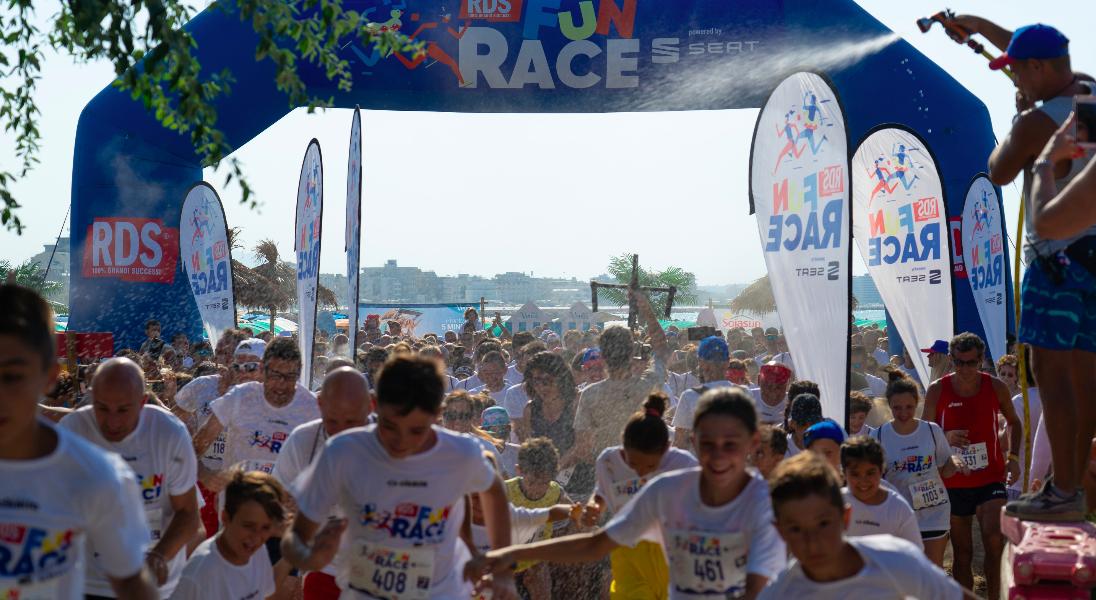 RDS FUN RACE a Soverato l'ultima tappa della Race targata RDS 100% Grandi Successi