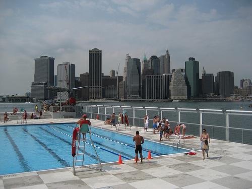 Bronx Floating Pool - New York City