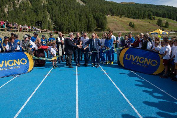 Livigno: la pista d'atletica corona un sogno