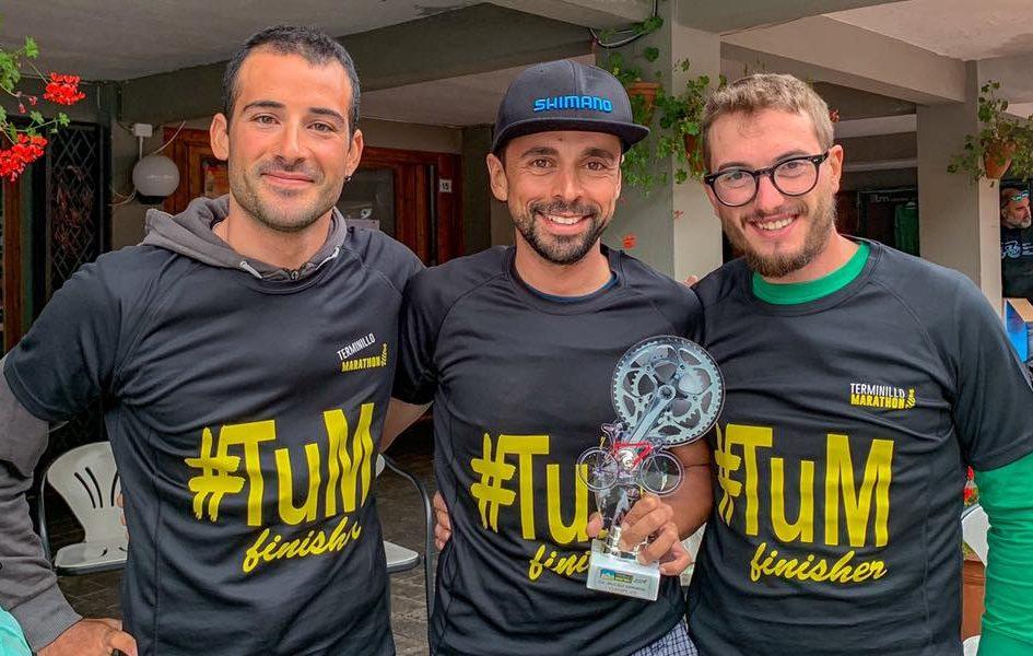 Omar di Felice vittoria con sorriso alla Terminillo Ultra Marathon