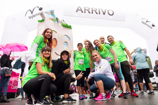 Alla Bologna Race for the Cure  la nuotatrice Ilaria Bianchi a capo del team iN's RunAndGo