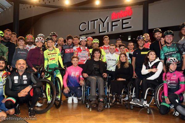 Trofeo Eicma 2019: Fontana campione di solidarietà
