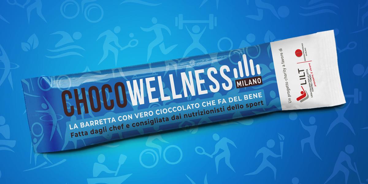 ChocoWellness, la barretta gourmet che fa del bene