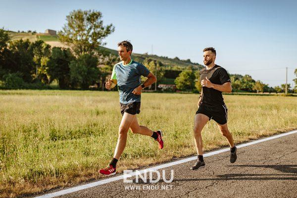 Esercizi per la corsa, dall'alto verso il basso
