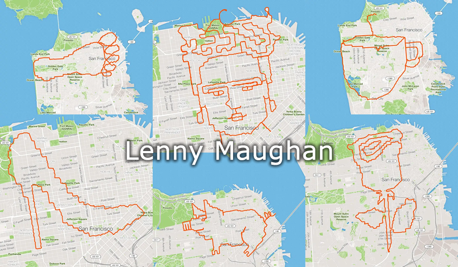 Lenny Maughan: Il Runner Artista