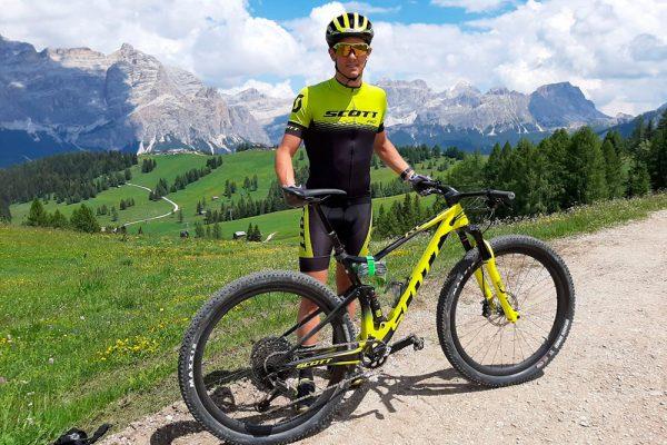 Filippo Rinaldi e il suo ritiro sulle Dolomiti