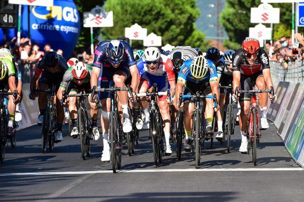 Sesta tappa del Giro d'Italia under 23 ENEL in volata a Jordi Meeus.