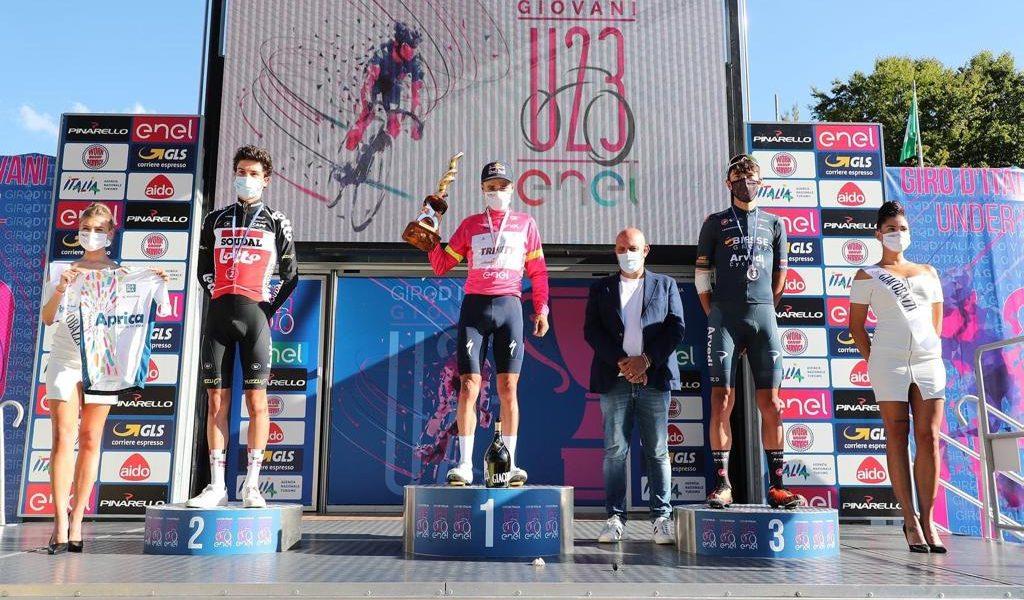 Tom Pidcock chiude in rosa il Giro d'Italia under 23 ENEL.