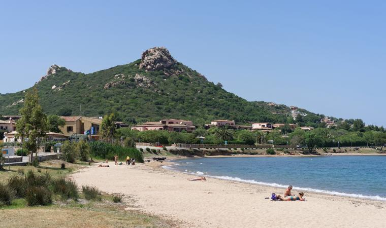 ITU Sardegna, la spiaggia di Cannigione