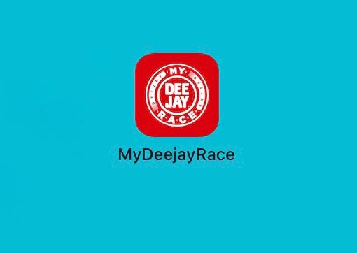 MyDeejayRace la app per registrare la propria My Deejay Ten