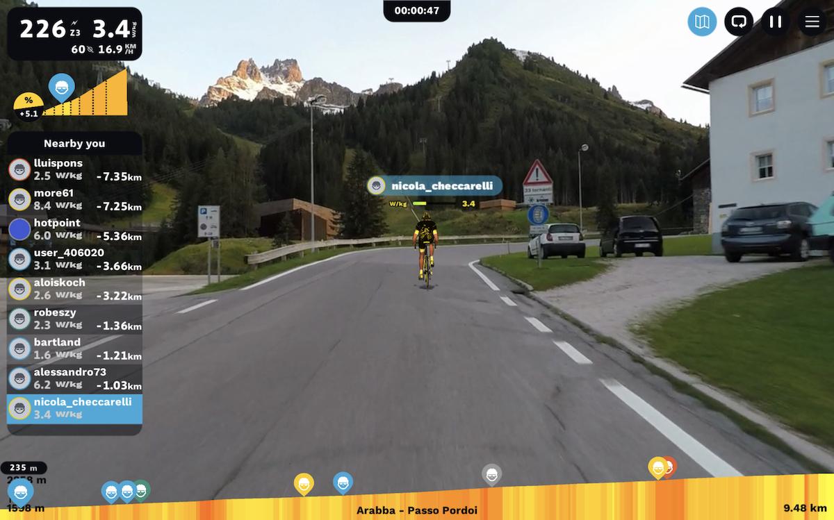 Pedalitaly, Cinque Terre Virtual Race, meno 1 alla partenza