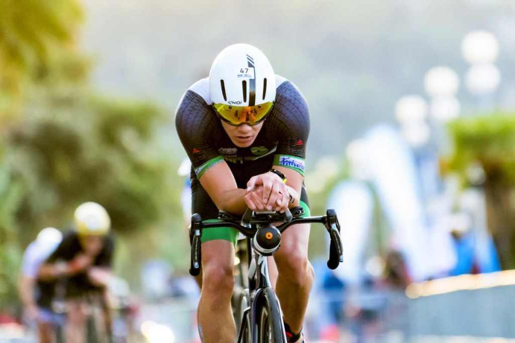 Bici da triathlon Gustav Iden al Mondiale di NIzza