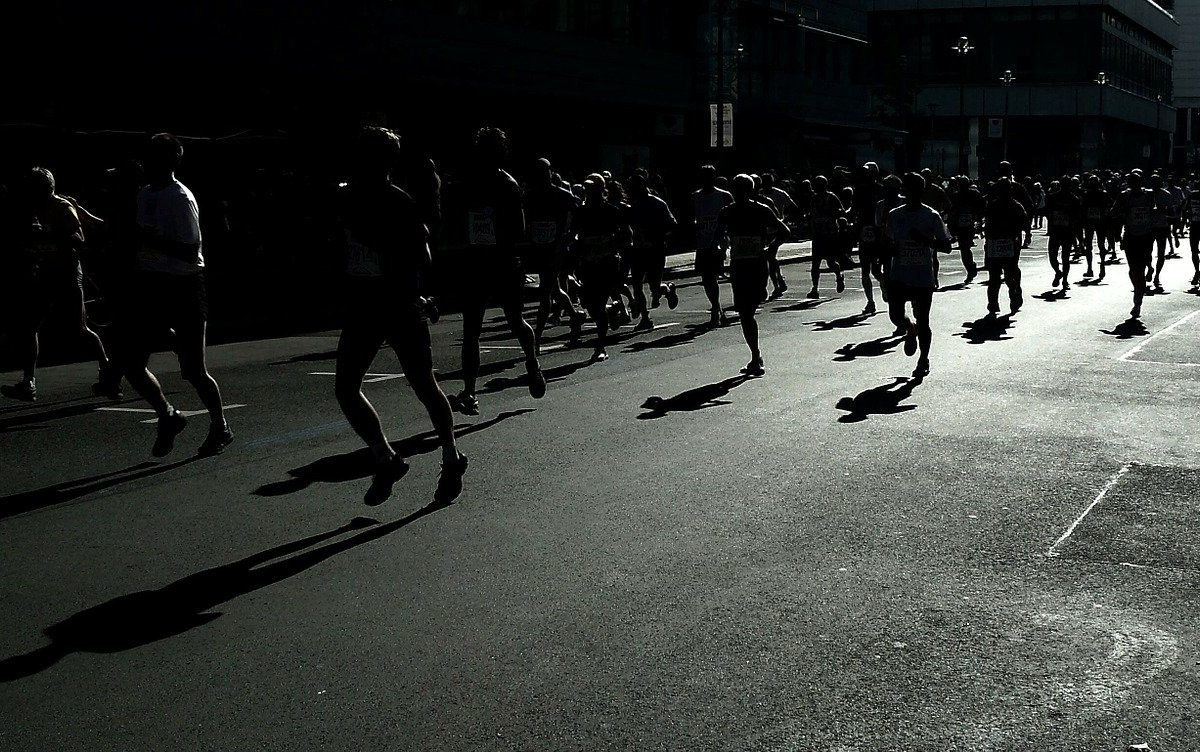 Le distanze della corsa su strada