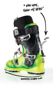 scarponi di sci alpinismo