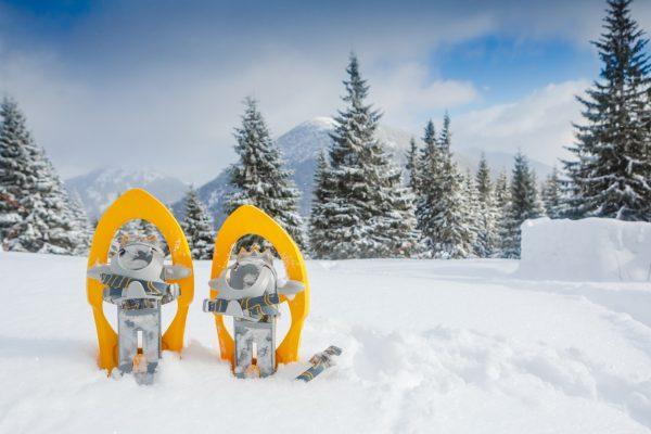 Ciaspe ciaspole racchette da neve! La montagna diversa