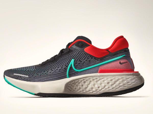 Nike React Infinity Run 2 e the Nike ZoomX Invincible Run.