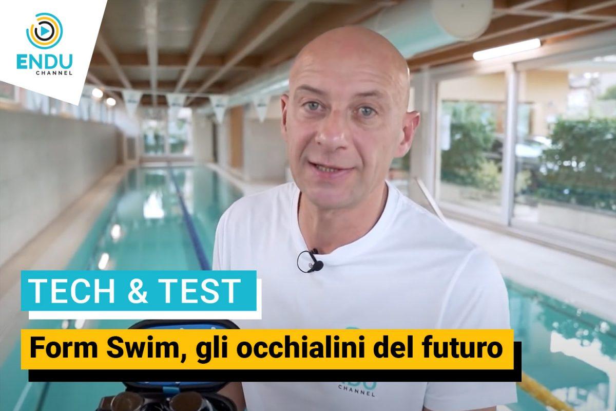 Form Swim, gli occhialini del futuro, il test di Luca Sacchi