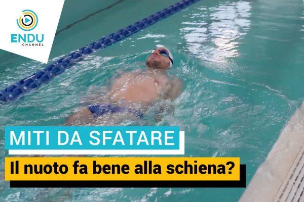Il nuoto fa bene alla schiena?