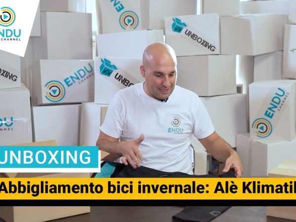 Unboxing: Alé presenta la linea Klimatik